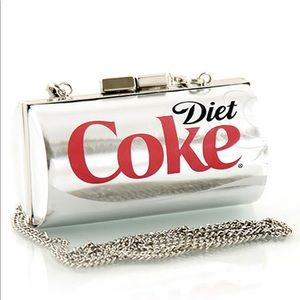 🆕 Diet Coca-Cola Can Crossbody/ Clutch